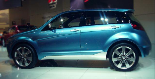 Mitsubishi concept CX side