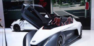 Nissan BladeGlider concept review