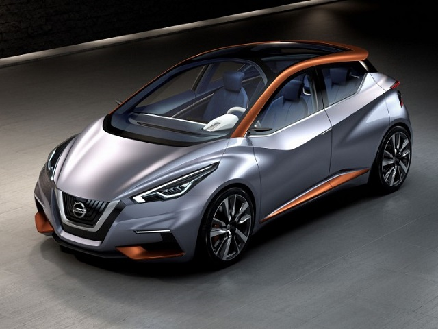 Nissan Sway concept front view