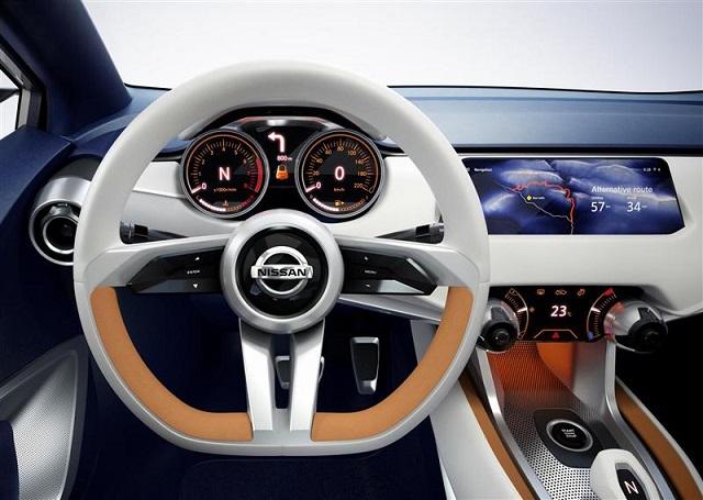 Nissan Sway concept interior
