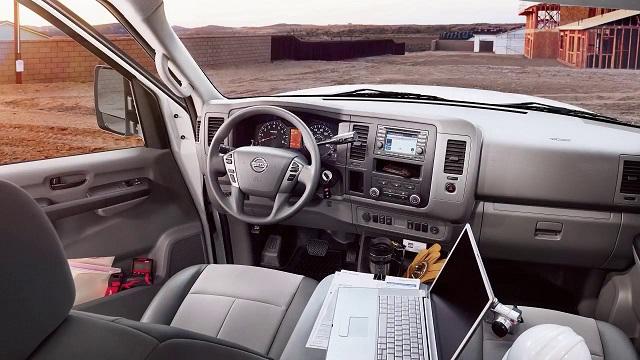 2018 Nissan NV Cargo Van interior
