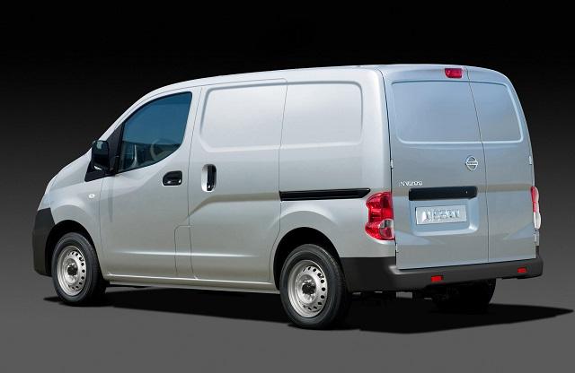 2018 Nissan NV Cargo Van rear view