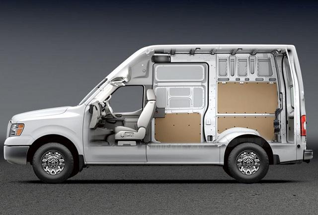 2018 Nissan NV Cargo Van side view