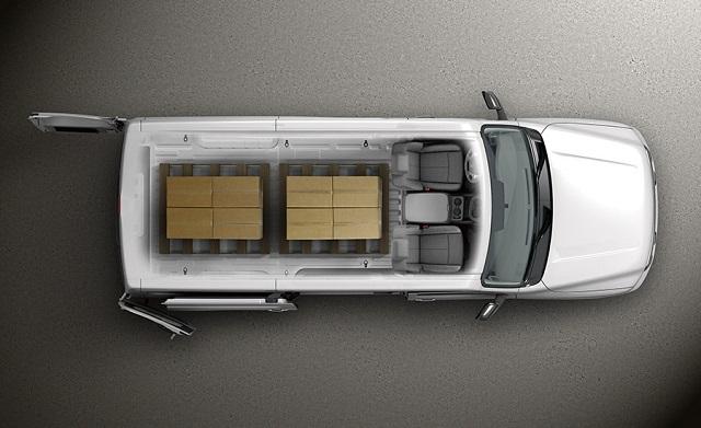 2018 Nissan NV Cargo Van top view