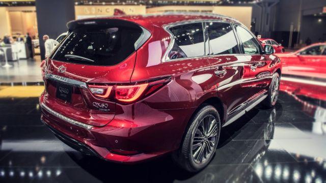 2019 Infiniti QX60 rear