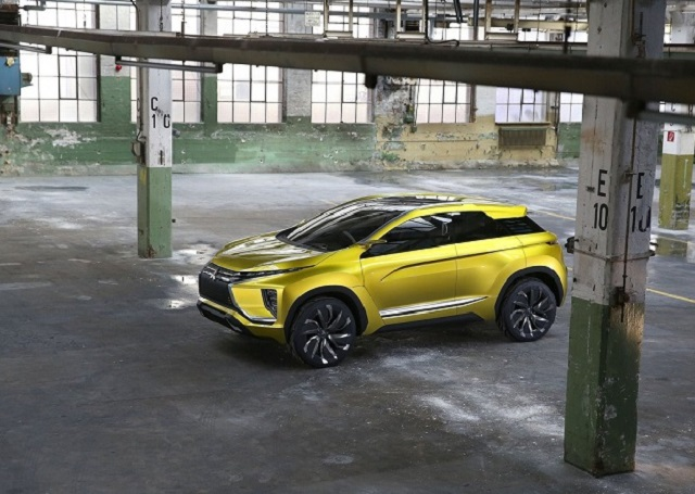 2019 Mitsubishi RVR top view