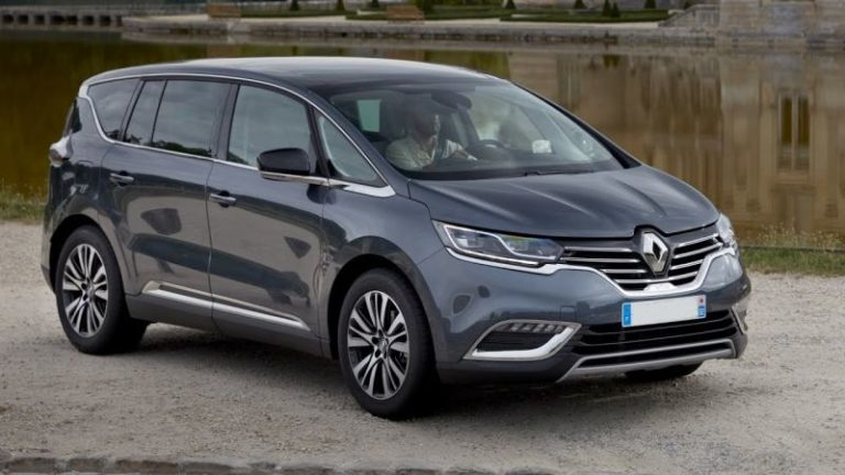 2019 Renault Espace is the fifth generation of the popular minivan