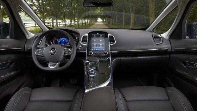 2019 Renault Espace interior