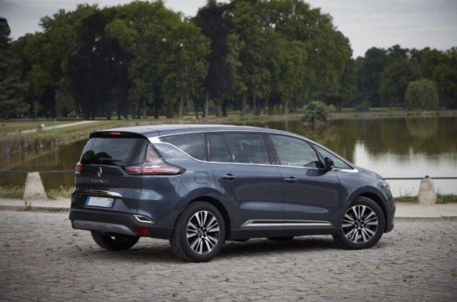 2019 Renault Espace rear