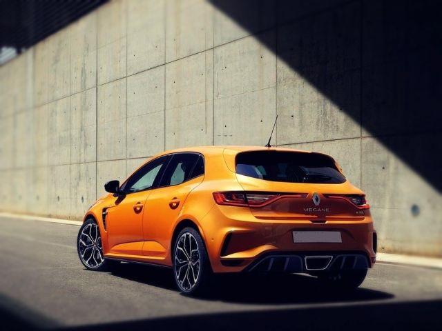 2019 Renault Megane RS rear