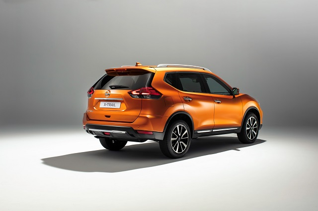 2019 nissan x-trail rear view