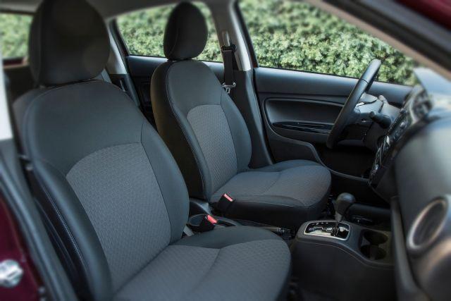 2020 Mitsubishi Mirage seats