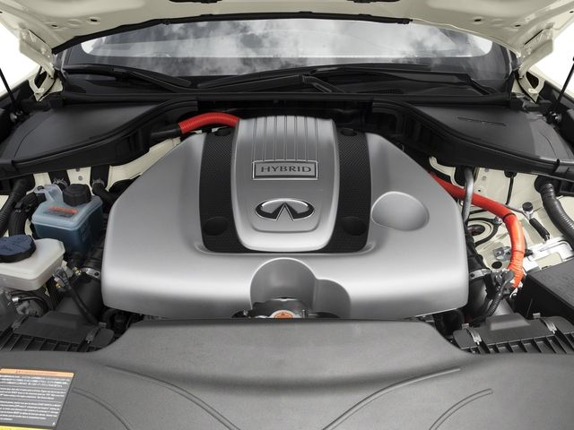 2019 Infiniti Q70 Hybrid engine