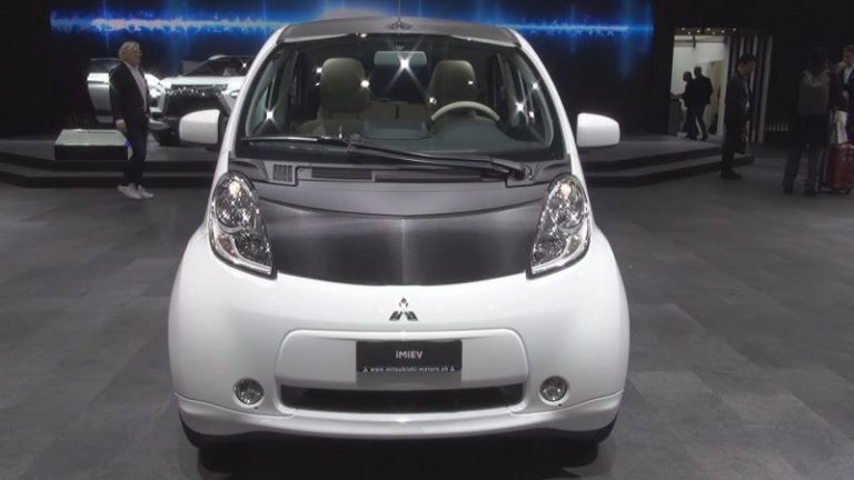 2019 Mitsubishi i-MiEV is the new modern electric car