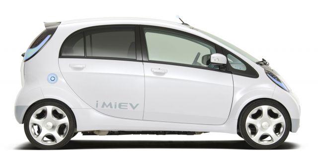 2019 Mitsubishi i-MiEV side