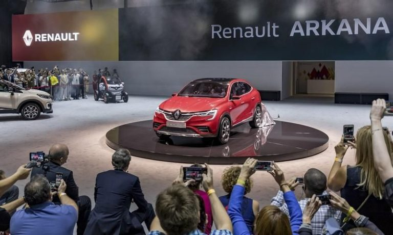 2019 Renault Arkana revealed at the Moscow International Auto Show