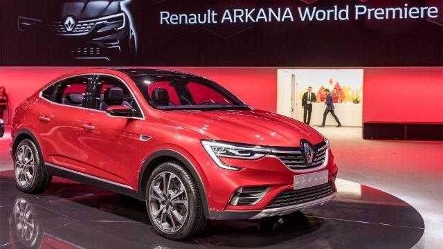 2019 Renault Arkana front