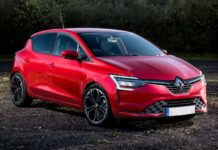 2019 Renault Clio front look