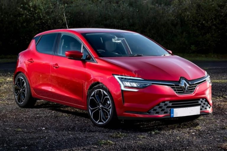 2019 Renault Clio spotted under the heavy camouflage, Rendering images