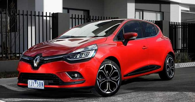 2019 Renault Clio front view