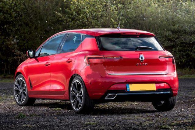 2019 Renault Clio rear look