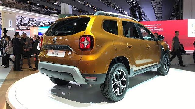 2019 Renault Duster rear view
