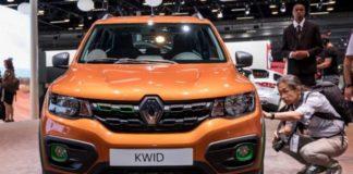 2019 Renault Kwid front