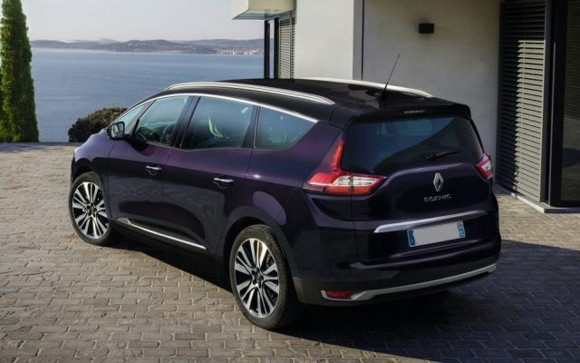 2019 Renault Scenic rear
