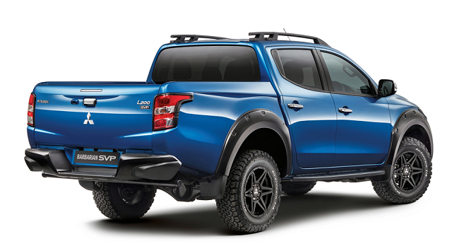 2019 mitsubishi L200 rear view