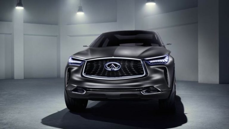 2020 Infiniti QX50 is based on the QX Sport Inspiration concept