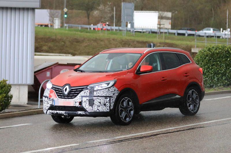 2020 Renault Kadjar Spy Photos Engine Specs Nissan Alliance