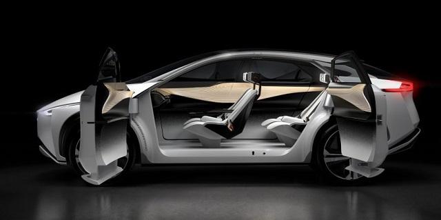 Nissan IMX concept interior