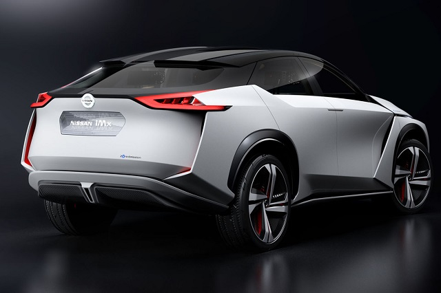 Nissan IMX concept rear view