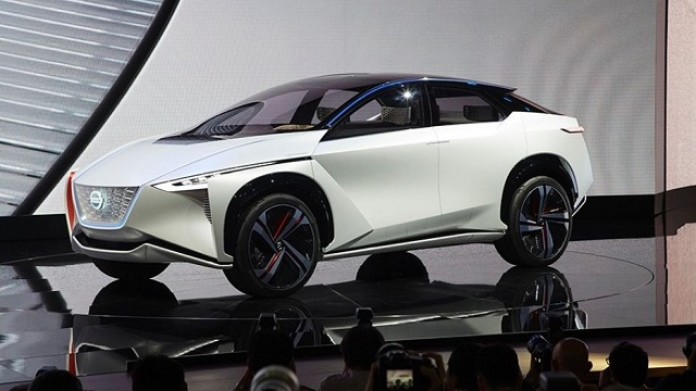 Nissan IMX concept side view