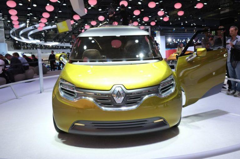 2019 Renault Kangoo is the new stylish electric MiniVan