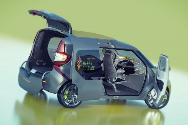 2019 Renault Kangoo rear
