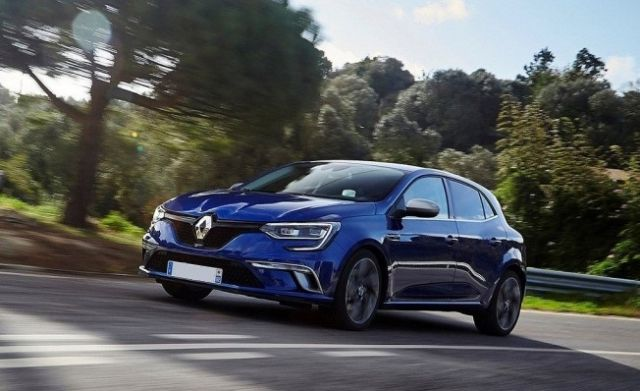2019 Renault Megane front