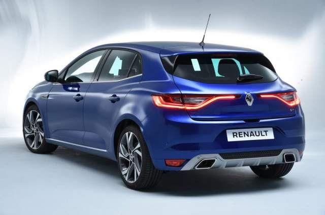 2019 Renault Megane rear