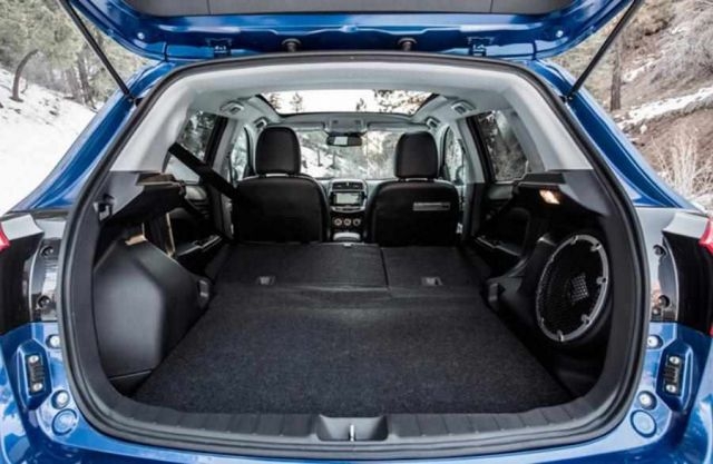 2020 Mitsubishi ASX trunk