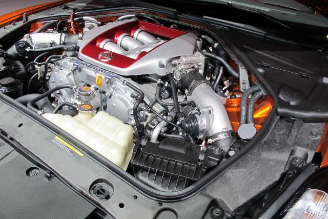 2020 Nissan GTR engine