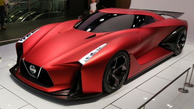 2020 Nissan GTR front