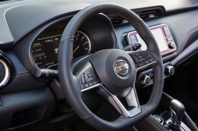 2020 Nissan Kicks interior