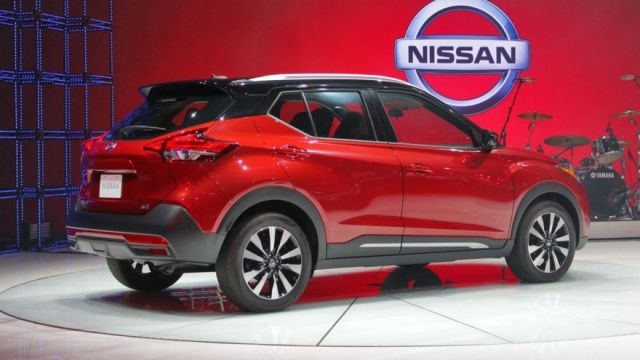 2020 Nissan Kicks side