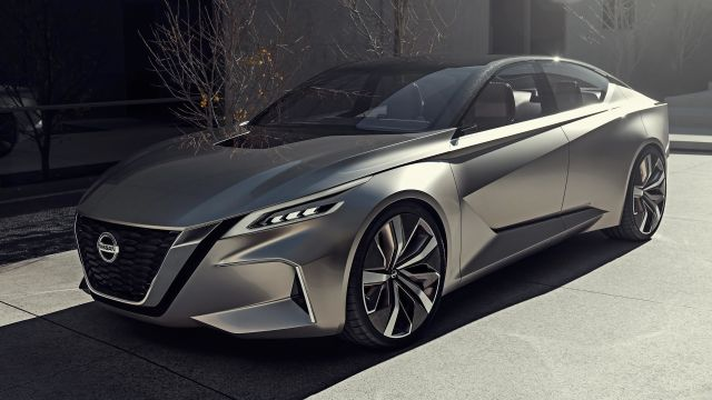 2020 Nissan Maxima side