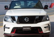 2020 Nissan Patrol front