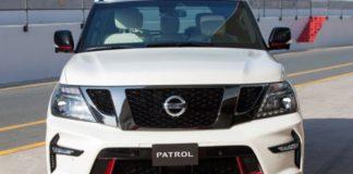 2020 Nissan Patrol front