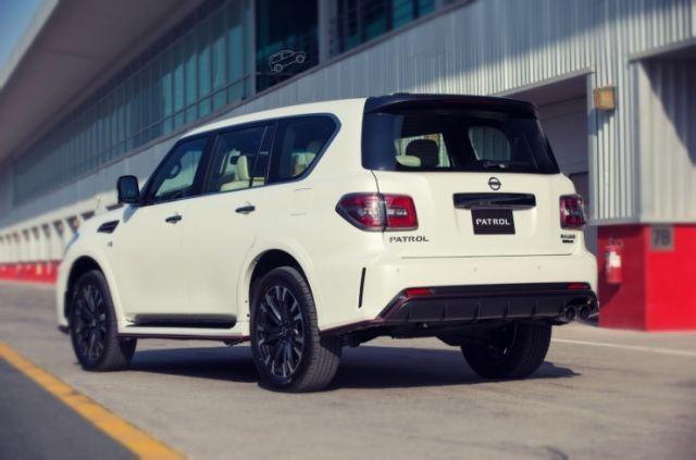 2020 Nissan Patrol rear