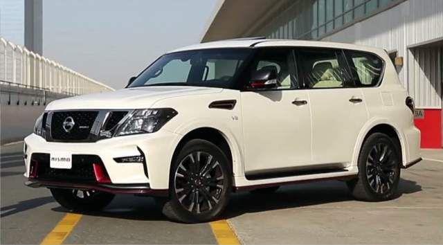 2020 Nissan Patrol side