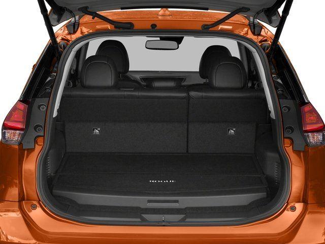 2020 Nissan Rogue cargo