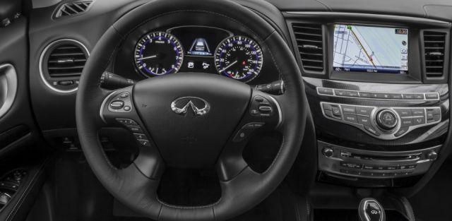 2019 Infiniti QX60 hybrid interior